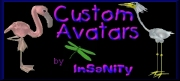 Custom Award Winning Avatars by InSaNiTy --- Click Logo