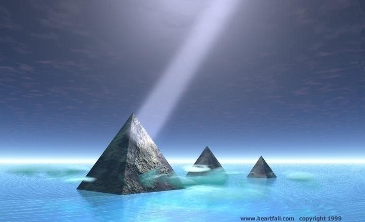 Pyramids with Light