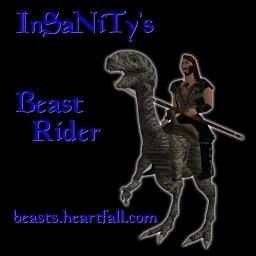 2001 A.V.V.Y. Award Winner!  Beast Rider Avatars by InSaNiTy
