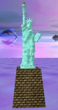 Free Statue of Liberty RWX Object Download